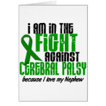 Cerebral Palsy In The Fight For My Nephew 1 Greeting Cards