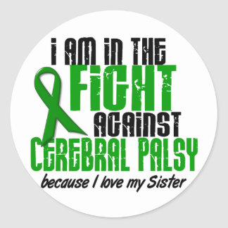 Cerebral Palsy In The Fight For My Sister 1 Stickers