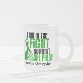 Cerebral Palsy In The Fight For My Son 1 Frosted Glass Coffee Mug