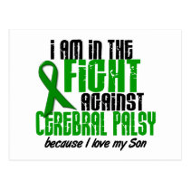 Cerebral Palsy In The Fight For My Son 1 Postcard
