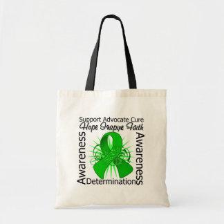 Cerebral Palsy Inspirations Spiral Ribbon Tote Bag