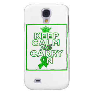 Cerebral Palsy Keep Calm and Carry ON Samsung Galaxy S4 Covers
