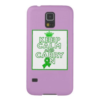 Cerebral Palsy Keep Calm and Carry ON Cases For Galaxy S5