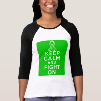 Cerebral Palsy Keep Calm and Fight On Tee Shirt
