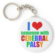 Cerebral Palsy Love Keychain
