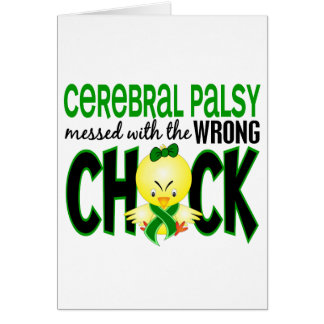 Cerebral Palsy Messed With The Wrong Chick Card