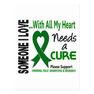Cerebral Palsy Needs A Cure 3 Postcard
