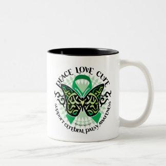 Cerebral Palsy PLC Two-Tone Coffee Mug