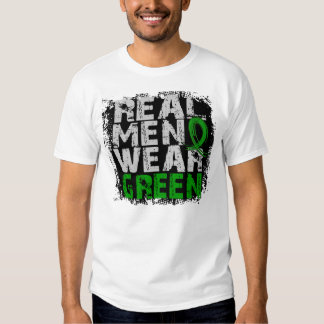 Cerebral Palsy Real Men Wear Green T-shirt