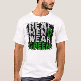 Cerebral Palsy Real Men Wear Green T-Shirt