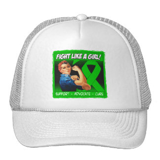 Cerebral Palsy Rosie Riveter - Fight Like a Girl Trucker Hat