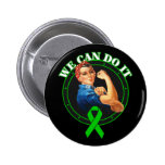 Cerebral Palsy - Rosie The Riveter - We Can Do It Button