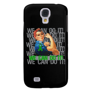 Cerebral Palsy Rosie WE CAN DO IT Galaxy S4 Cover