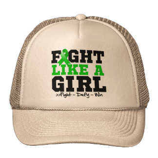 Cerebral Palsy Sporty Fight Like a Girl Trucker Hat