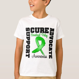 Cerebral Palsy Support Advocate Cure T-Shirt
