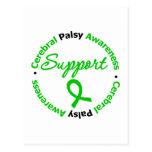 Cerebral Palsy Support Ribbon Postcard