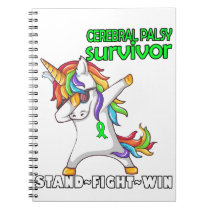 CEREBRAL PALSY Survivor Stand-Fight-Win Notebook