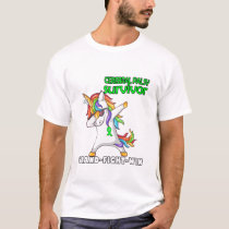 CEREBRAL PALSY Survivor Stand-Fight-Win T-Shirt