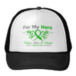 Cerebral Palsy Tribal Ribbon Hero Hat