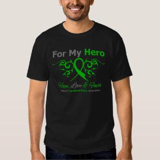 Cerebral Palsy Tribal Ribbon Hero T Shirt