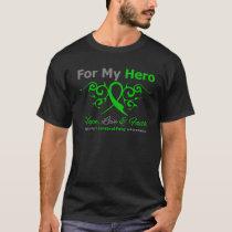 Cerebral Palsy Tribal Ribbon Hero T-Shirt