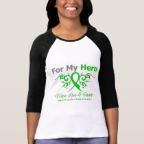 Cerebral Palsy Tribal Ribbon Hero T-Shirt
