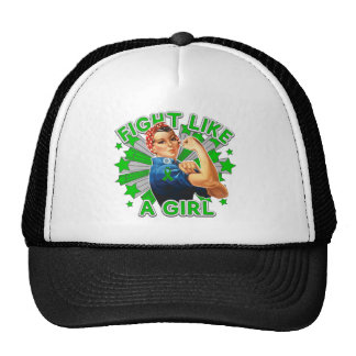 Cerebral Palsy Vintage Rosie Fight Like A Girl Trucker Hat
