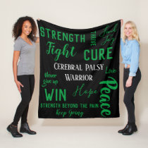 Cerebral Palsy Warrior blanket