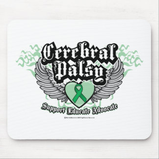 Cerebral Palsy Wings Mouse Pad
