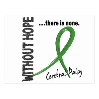Cerebral Palsy Without Hope 1 Postcard