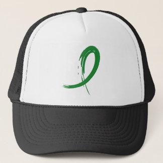 Cerebral Palsy's Green Ribbon A4 Trucker Hat