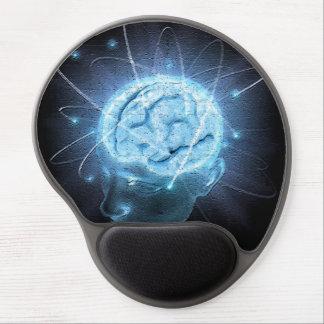 Cerebro atómico alfombrilla con gel