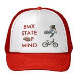 cerebro, bmxer, bici del bmx, BMXSTATEofmind Gorro De Camionero