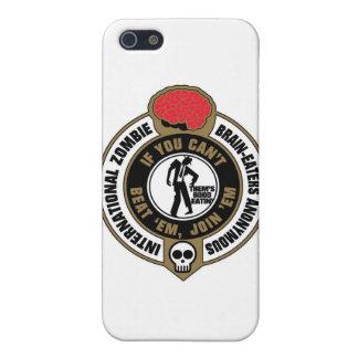 Cerebro-Comedores internacionales del zombi iPhone 5 Carcasas
