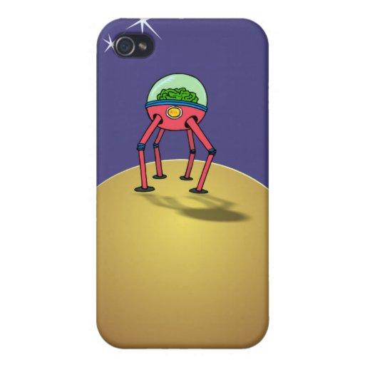 Cerebro de Alen en Spacesuit en el planeta iPhone 4/4S Funda