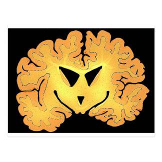 Cerebro de la calabaza postal