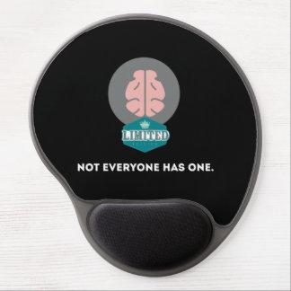 Cerebro de la edición limitada alfombrillas de ratón con gel