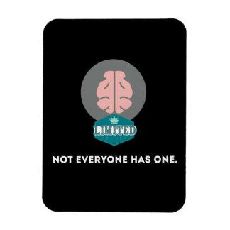 Cerebro de la edición limitada iman de vinilo