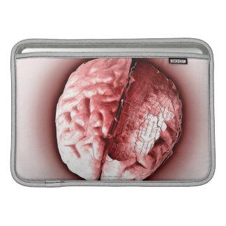 Cerebro de la placa de circuito fundas macbook air