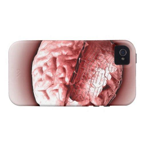 Cerebro de la placa de circuito iPhone 4/4S funda