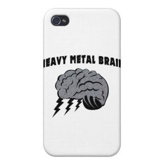 Cerebro de metales pesados iPhone 4 funda