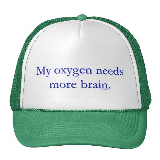 Cerebro de Oxy Gorro
