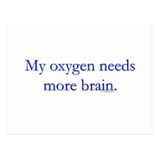 Cerebro de Oxy Tarjetas Postales