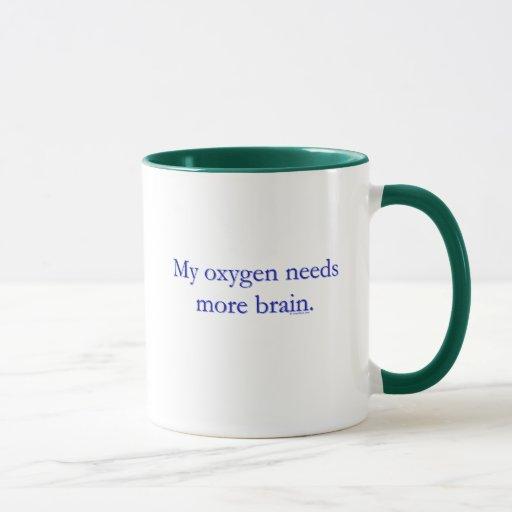 Cerebro de Oxy Taza
