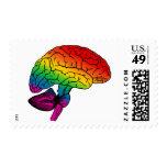 Cerebro del arco iris sellos