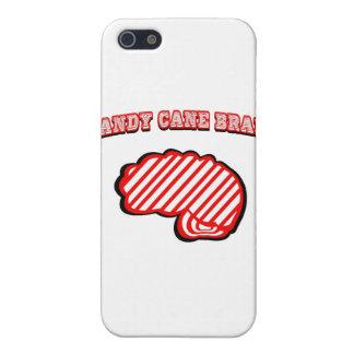 Cerebro del bastón de caramelo iPhone 5 protectores