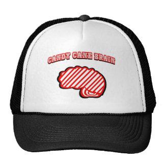 Cerebro del bastón de caramelo gorras de camionero