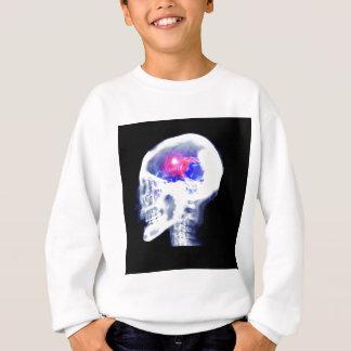 Cerebro del Cyborg Sudadera