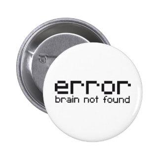 cerebro del error no encontrado pins