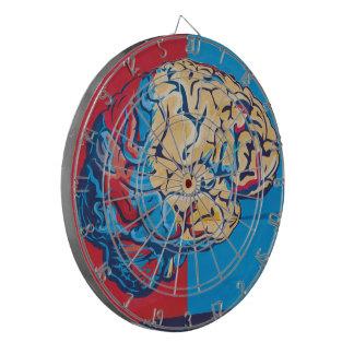 Cerebro del zombi tablero dardos